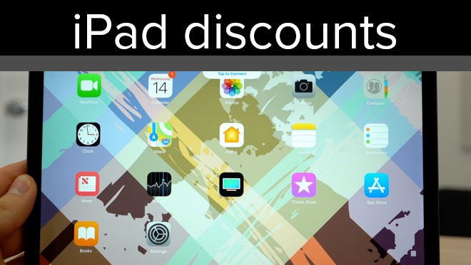 Weekend Apple iPad deals