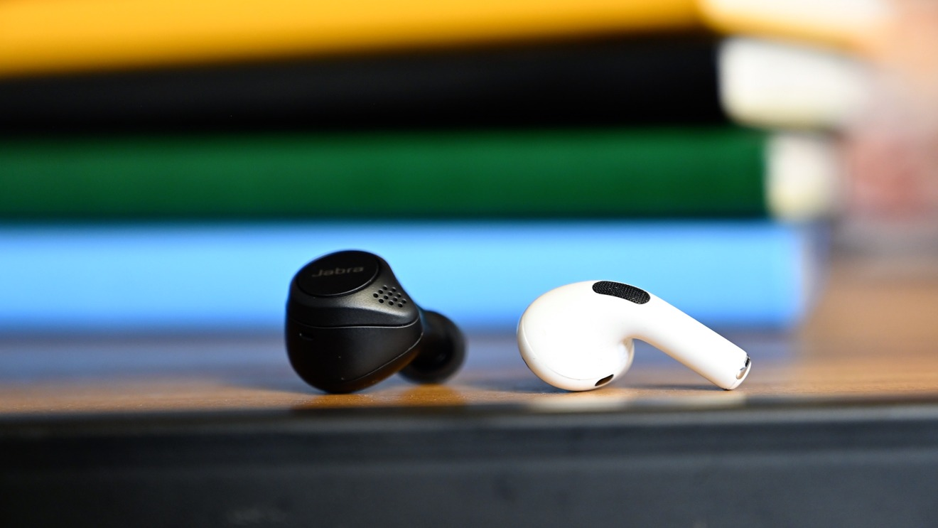 Comparig the Jabra Elite 75t and AirPods Pro