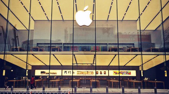 Apple store in Hangzhou, China.
