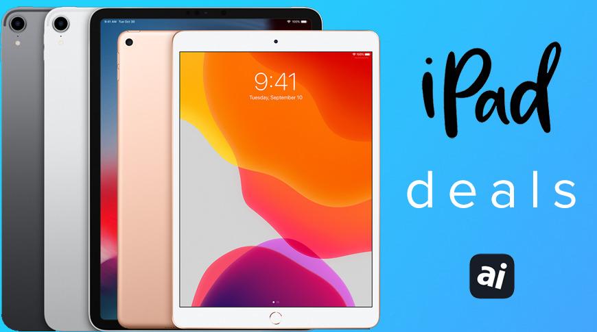 Apple iPad Air and iPad Pro deals