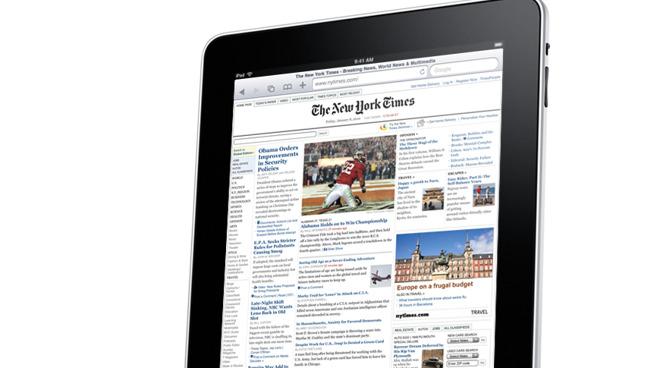 The original Apple iPad from 2010
