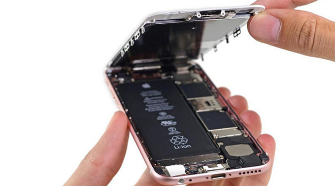 Lithion-ion batteries like this inside an iPhone use cobalt.