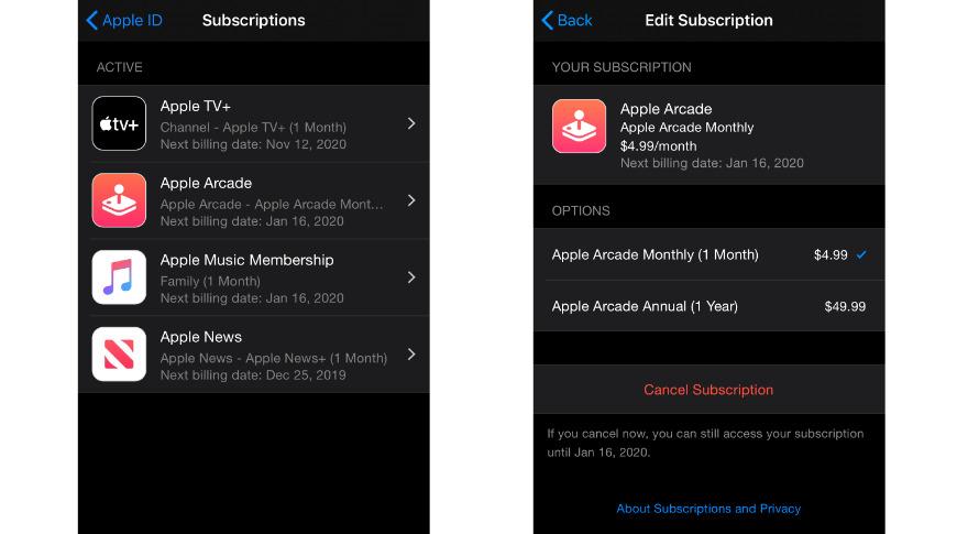 Apple Arcade gains $49.99 annual subscription option