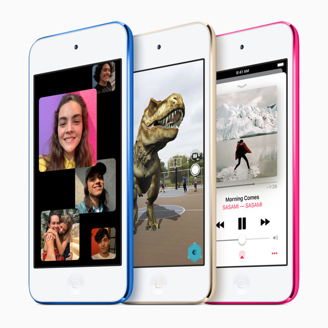 Who saw this coming? The iPod touch was updated.