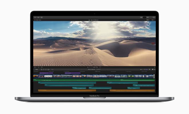 The new 15-inch MacBook Pro