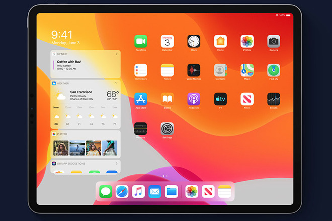 Finally, that acre of space between every icon on the iPad screen is fixed —  with the new iPadOS.