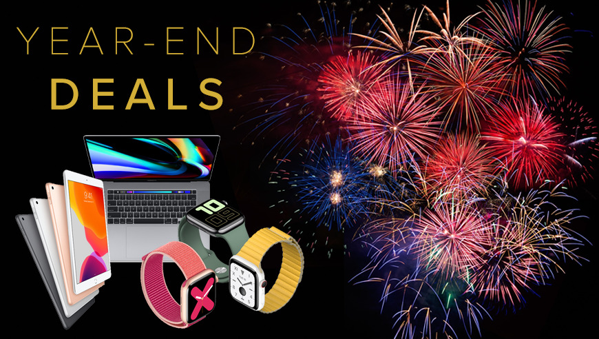 Last call for these year-end Apple deals on Macs, iPads, AirPods, Apple Watch, iPhones