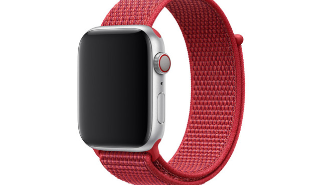 Apple has previously released a PRODUCT(RED) sports band, but not an Apple Watch
