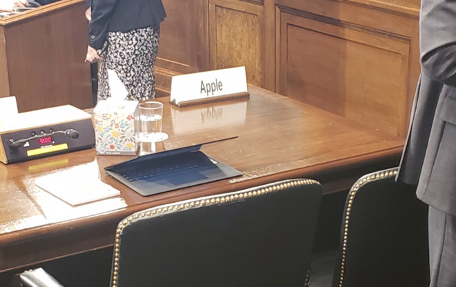 We're not used to seeing an empty chair from Apple