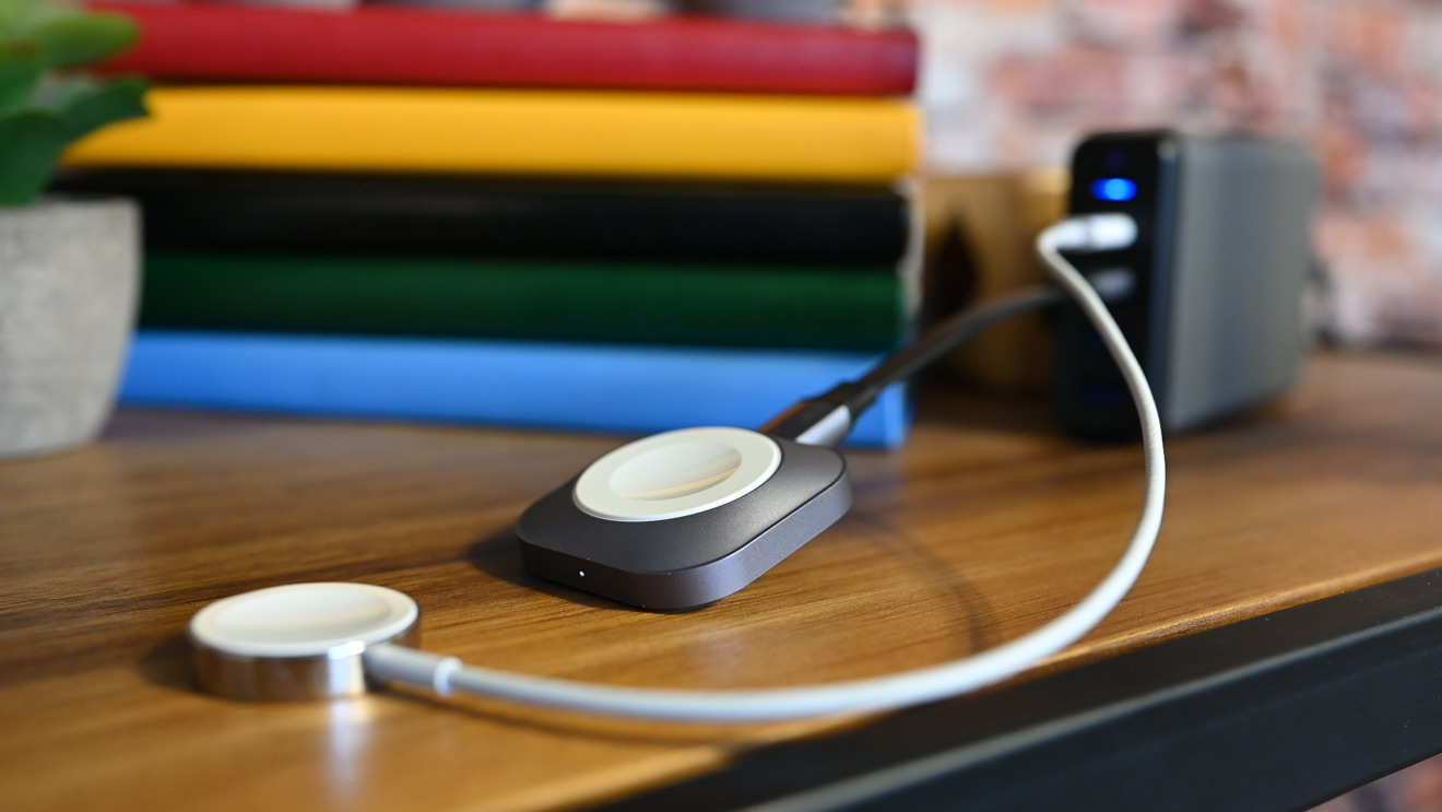 Satechi's new USB-C Apple Watch Dock compared to Apple's own