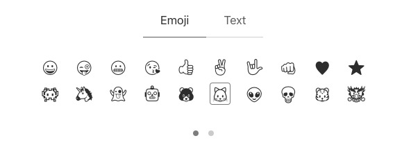 emoji choices