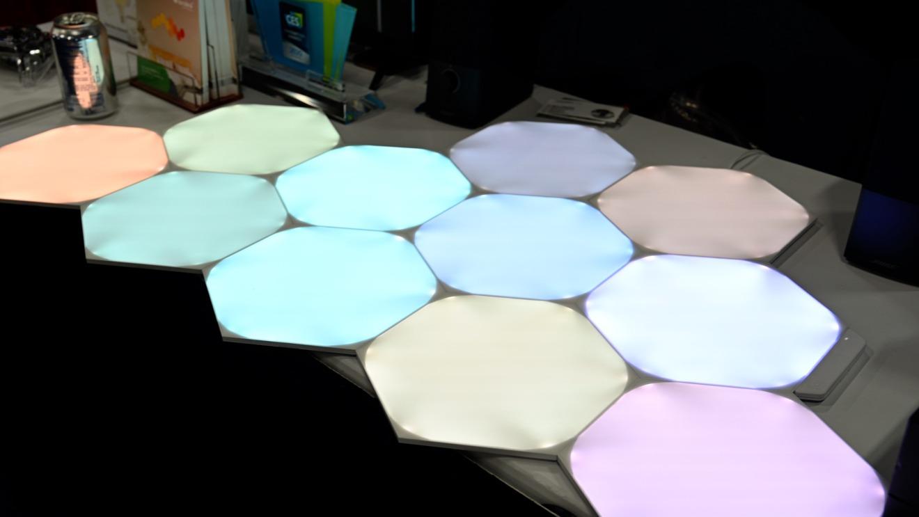 Nanoleaf unified light panels