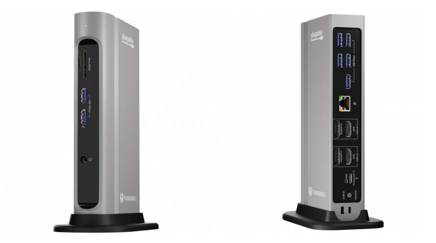 Plugable TBT3-UDZ Thunderbolt 3 and USB-C Docking Station