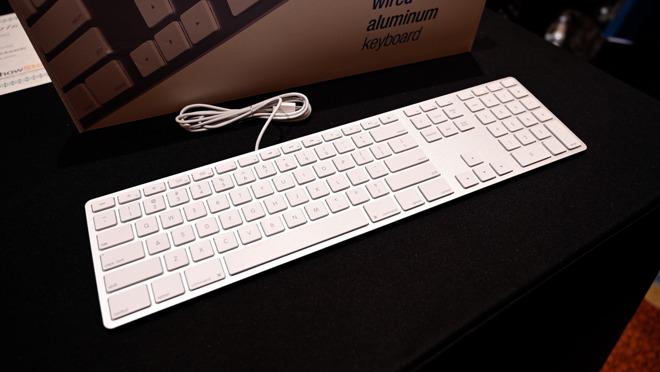 Matias aluminum keyboard