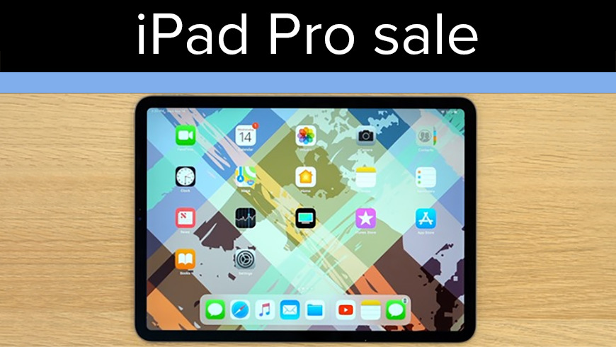 Amazon iPad Pro sale