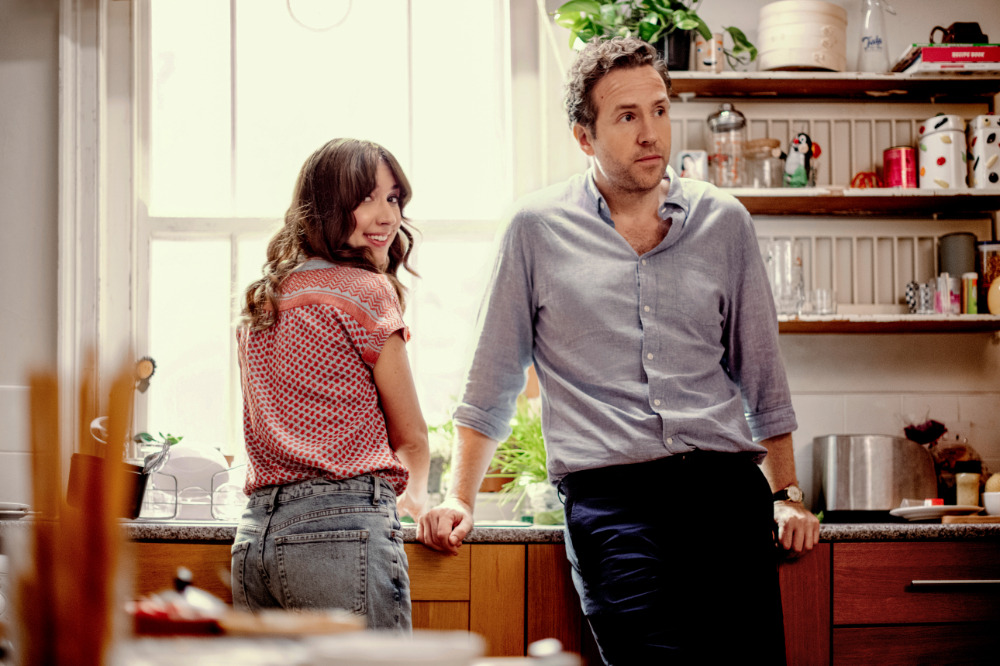 Esther Smith and Rafe Spall in