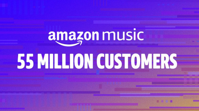 Amazon Music has over 55m customers worldwide