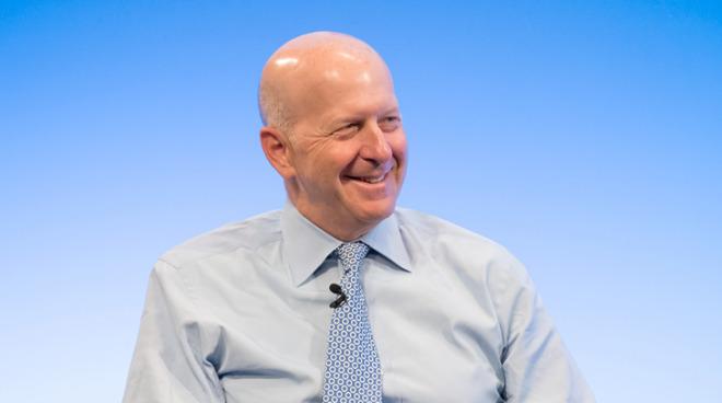 David Solomon, CEO of Goldman Sachs (via Goldman Sachs)