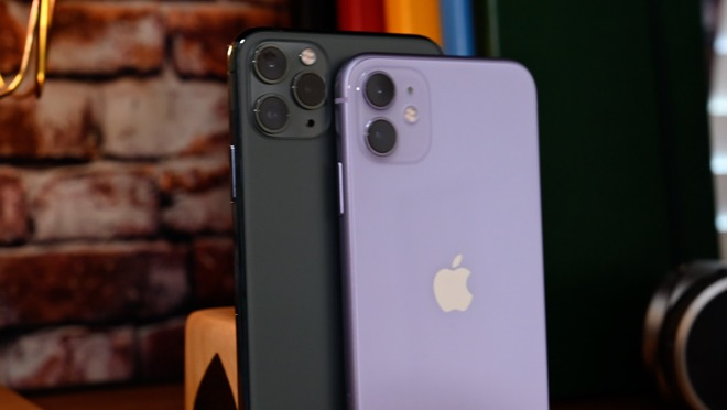Apple iPhone 11 Pro Max and iPhone 11