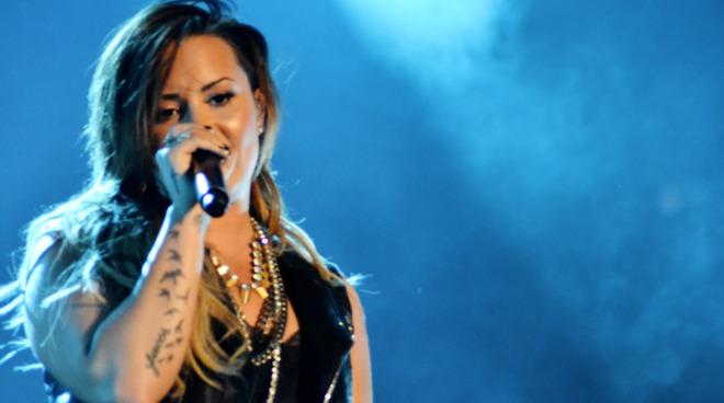 Demi Lovato will perform the National Anthem | Image Credit: Joo Bicalho