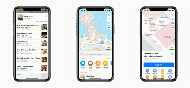 Improvements to Apple Maps, now available to all users in the US