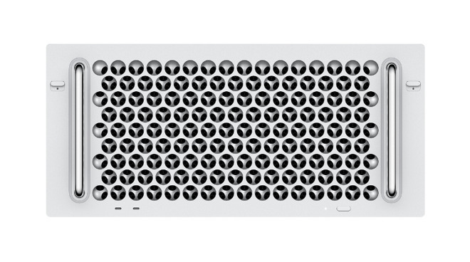 The new most-expensive-Mac ever. In January 2020, users could finally buy the rack-mounted version of the Mac Pro, for $6,499.