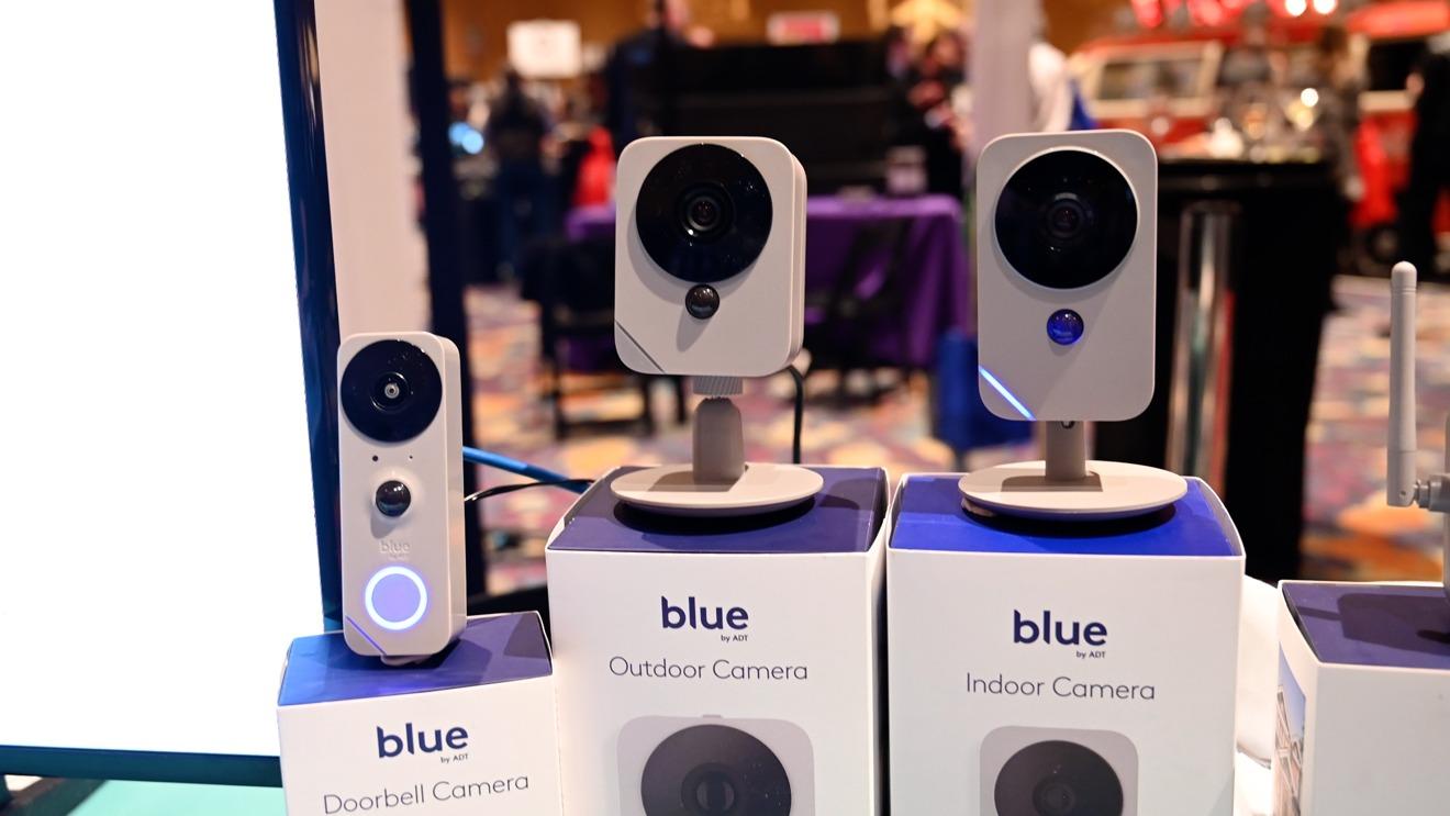 ADT's line of Blue HomeKit cameras