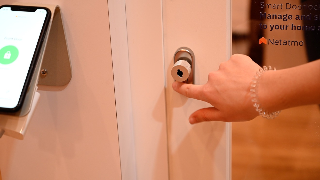 Netatmo Smart Door Lock supports HomeKit and physical NFC keys