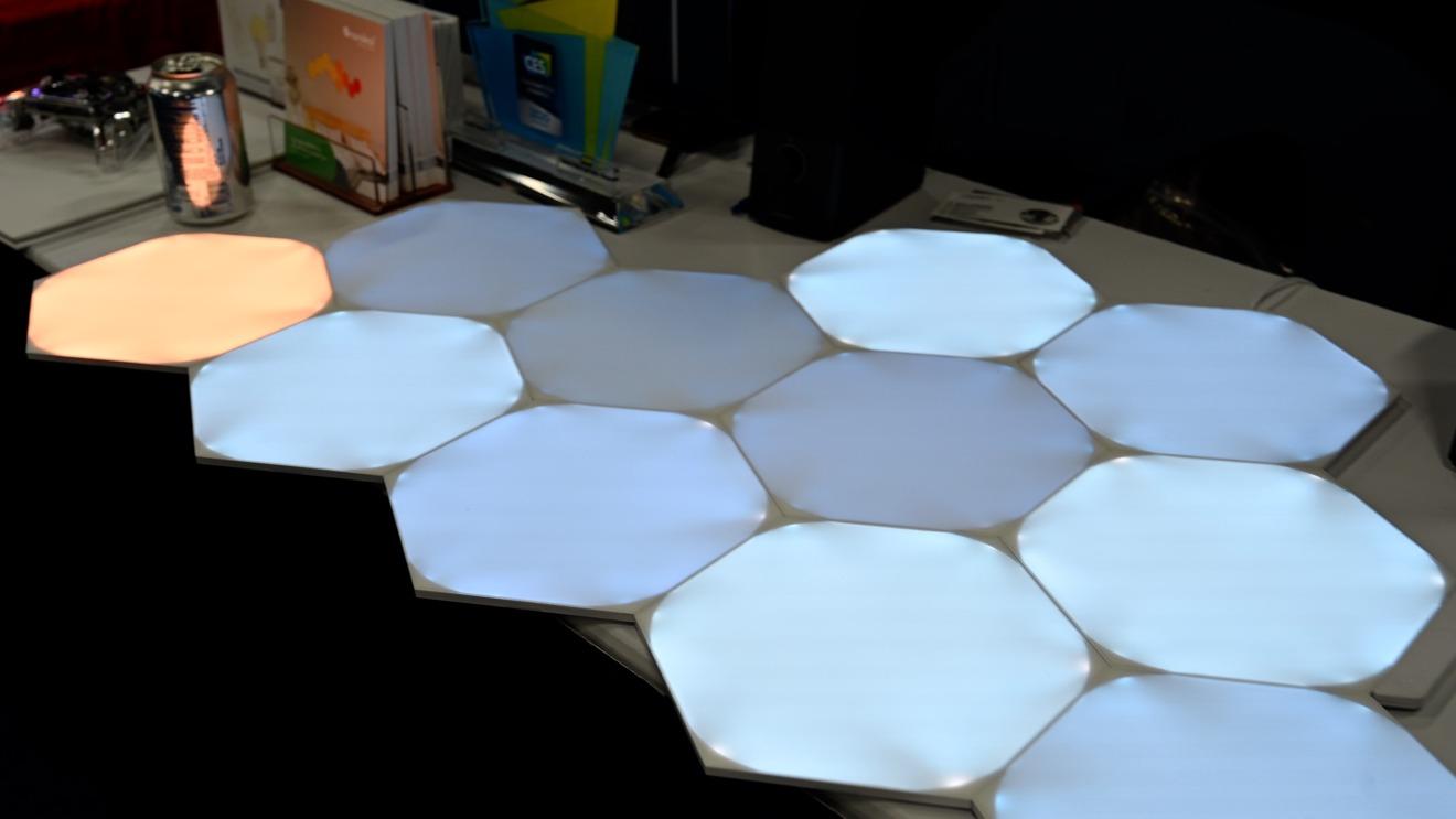 Nanoleaf Unified Hexagons light panels