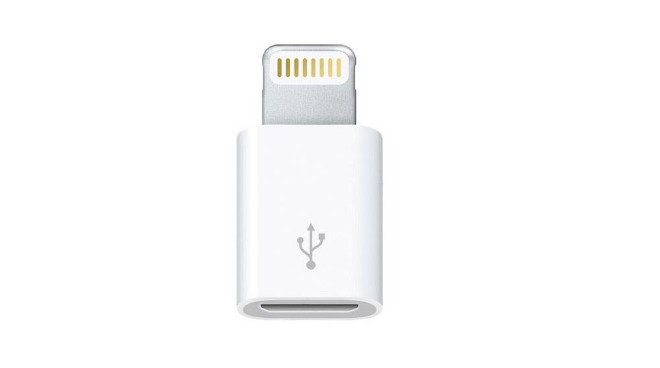 Apple introduced a Lightning to micro USB adapter specifically to comply with a 2009 EU agreement