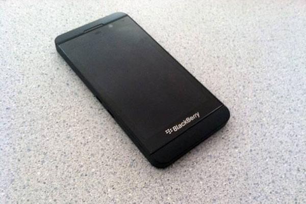 BlackBerry's Z10 smartphone in 2013. Source: New York Magazine