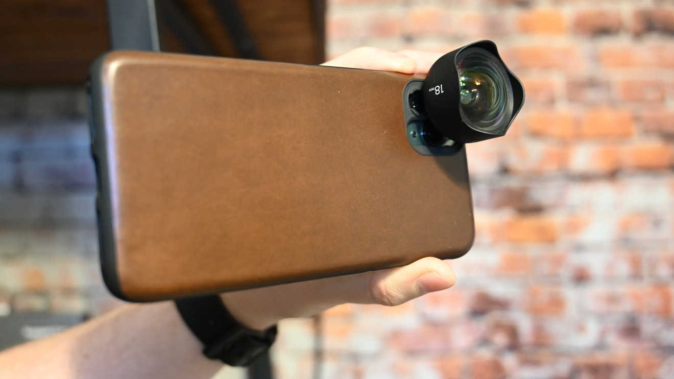 Shooting images with the Nomad Rugged Case and a Moment lens