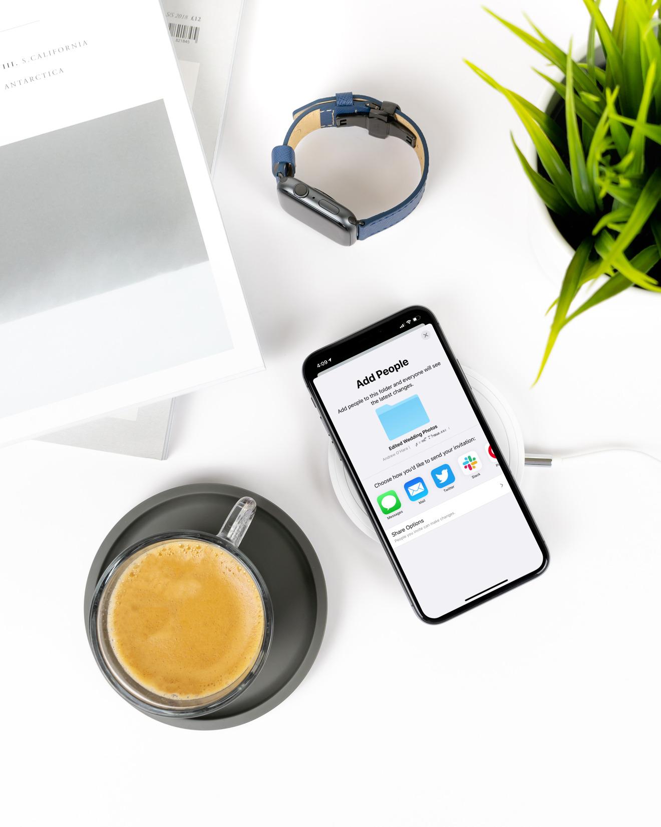 iCloud Folder Sharing