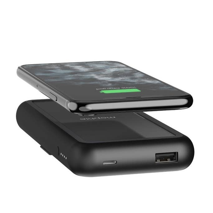 Powerstation Plus XL has the same as the Powerstation Plus but adds a Qi wireless output and a larger battery