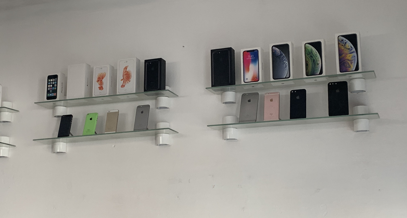 The iPhones available at Dr. iPhone