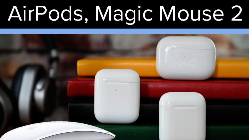 Apple AirPods deals and Magic Mouse 2