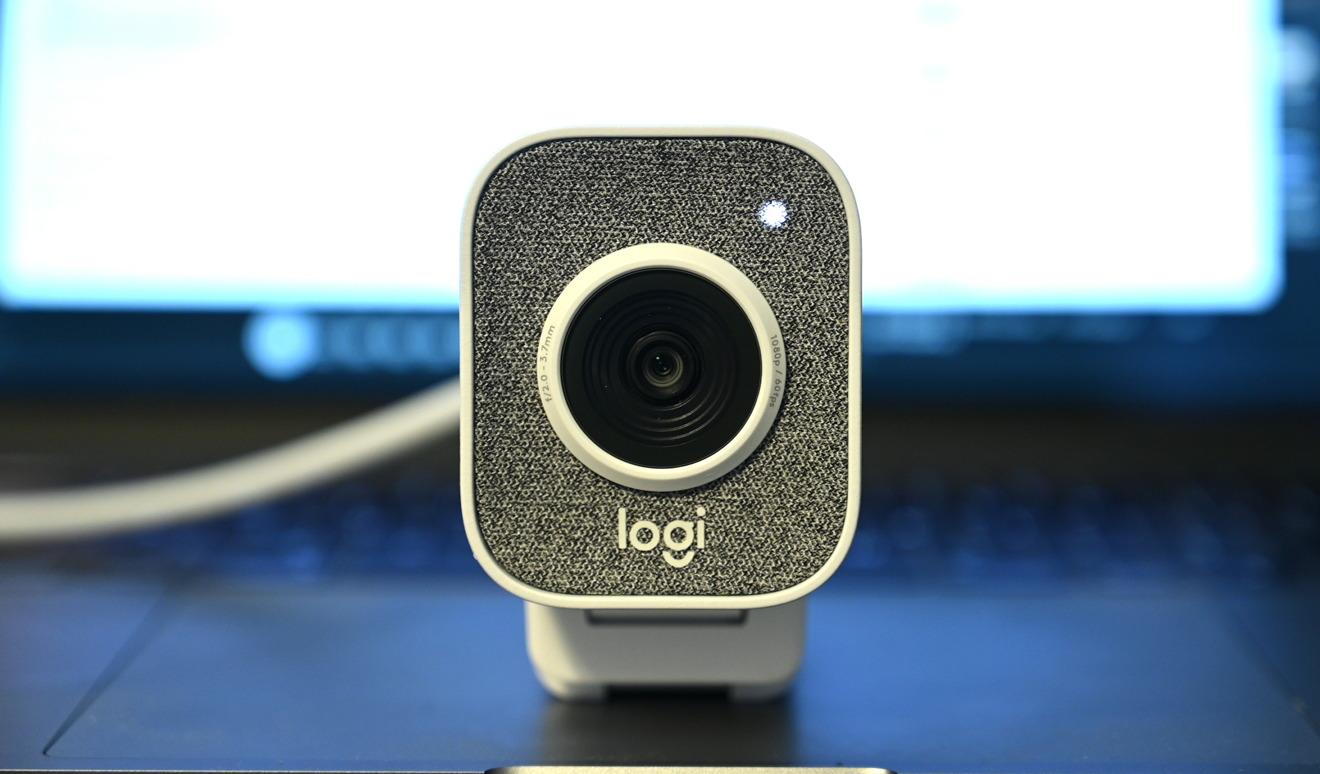 The front of the Logitech StreamCam
