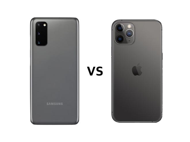 Samsung Galaxy S20 vs iPhone 11 Pro