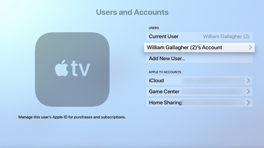 Cancelling Apple Music on Apple TV