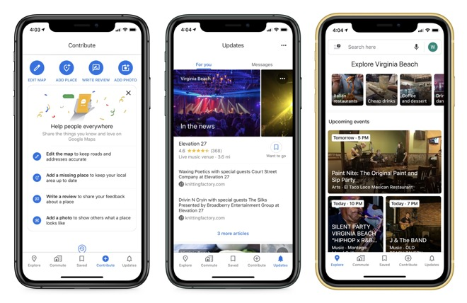 Google's new tabs provide a new way to view the same information