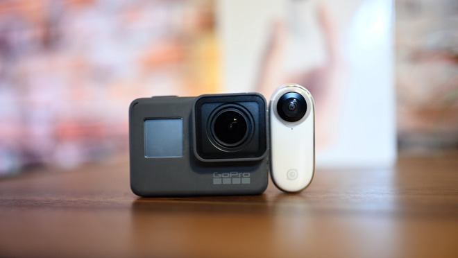 Comparing a GoPro Hero 5 to the Insta360 GO