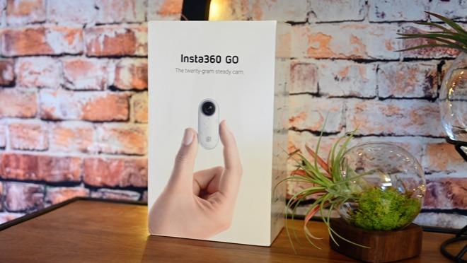 The Insta360 GO box