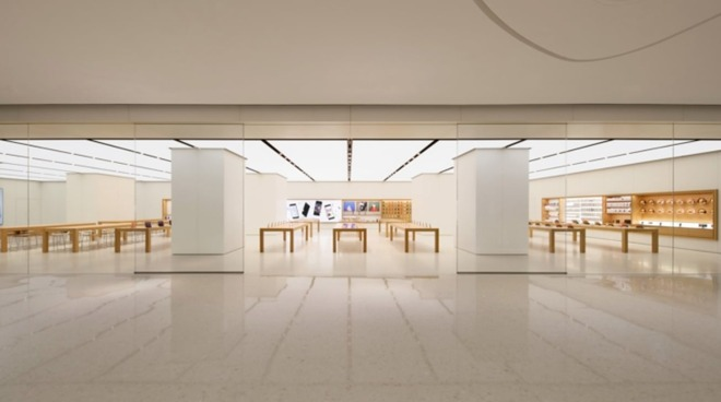 Apple Store in Pearl River New City, Guangzhou