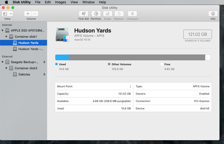 Disk Utility is easy to use, but so powerful that we've got to mention the word