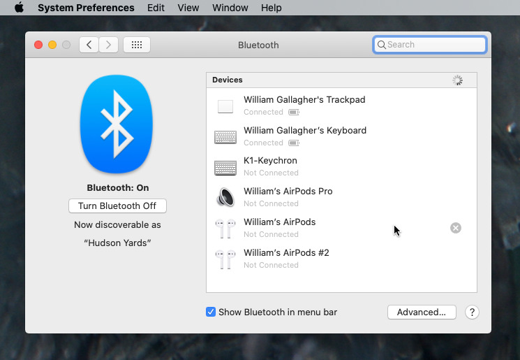 Un-pair any Bluetooth devices you have. Unless you're giving them away.