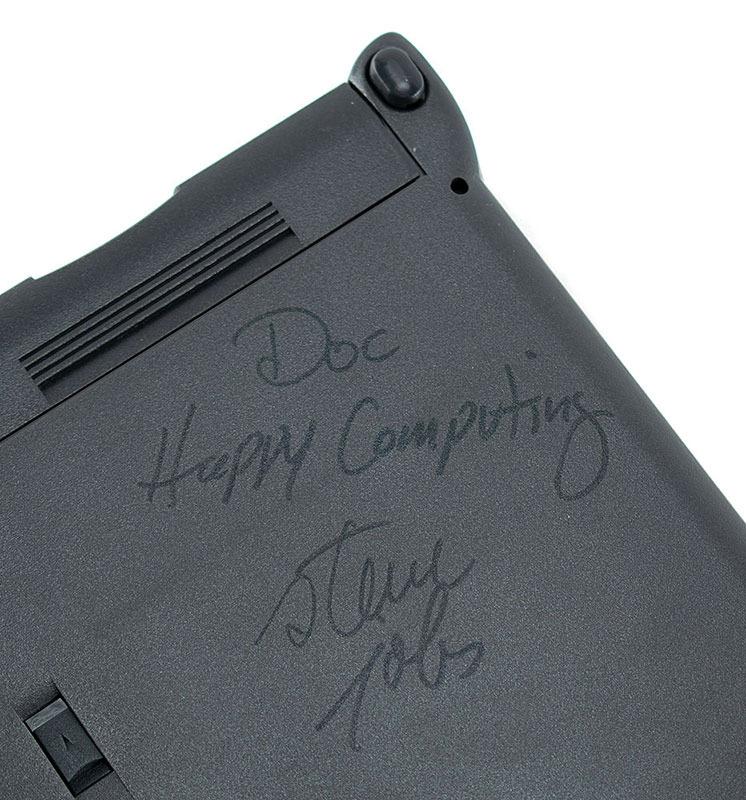 PowerBook Jobs Signature