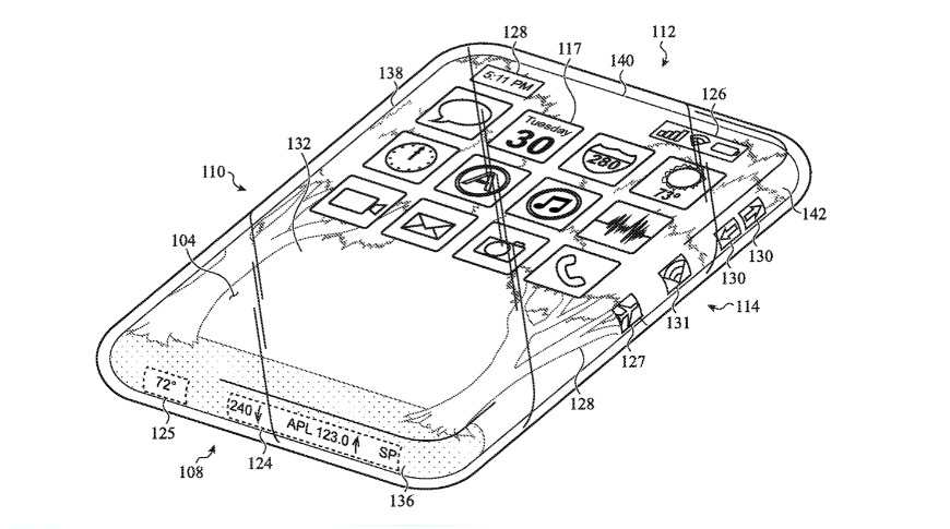 Apple researching all-glass iPhone with wraparound touchscreen