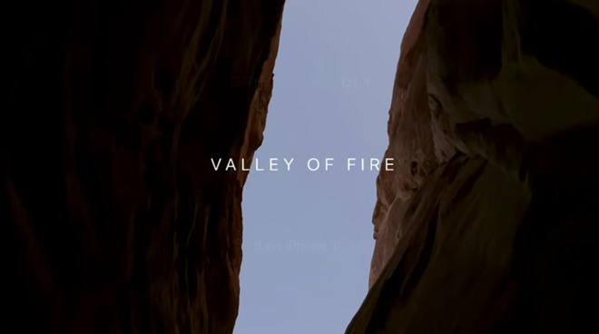Latest 'Shot on iPhone' Video Uses iPhone 11 Pro to Highlight Nevada's Valley of Fire