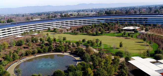 Apple Park is a ten-minute drive from where Steve Jobs grew up.