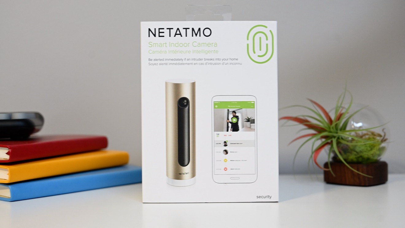 Netatmo Smart Indoor Camera box